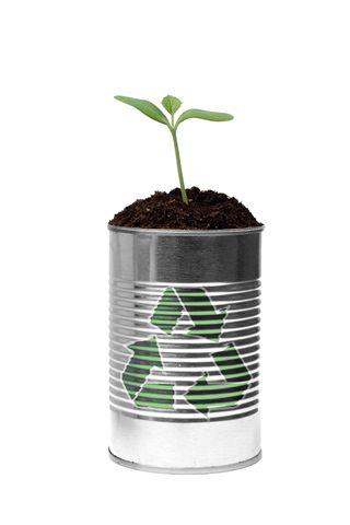 recyclebaarheid lege blikken